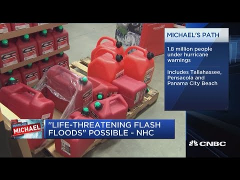 'Life-threatening flash floods' possible from Michael: National Hurricane Center
