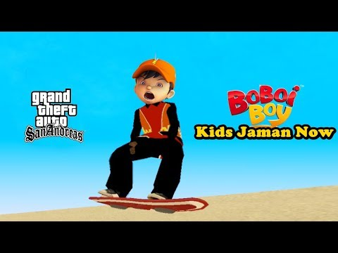 Kids Jaman Now Vs Boboiboy - GTA Lucu Indonesia Dyom