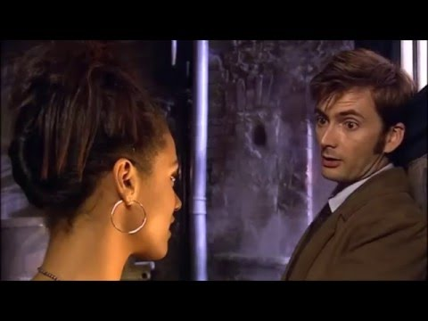Doctor Who - Smith and Jones - Martha in the TARDIS for the first time.