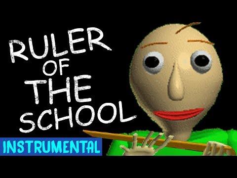 Baldi's Basics Song - Ruler Of The School Instrumental