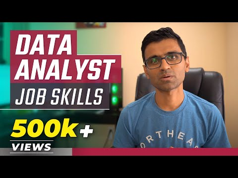 8 Skills to get a data analyst job | Skills to become successful data analyst