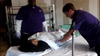 Patient Transport: Bed to Stretcher Transfer
