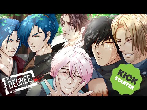QuickLook - 1st Degree: Murder-Mystery BL/Yaoi Visual Novel  - Extended Demo Longplay