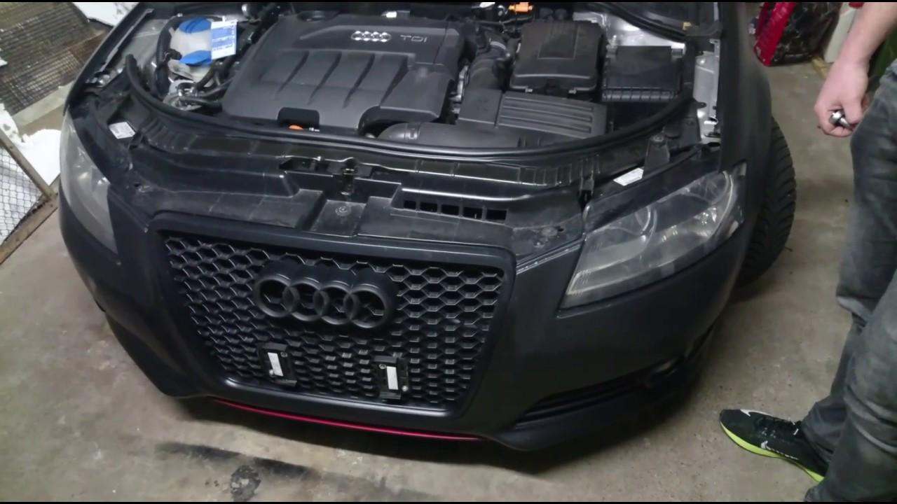 Audi A3 8p Frontsch 252 Rze Demontieren Sto 223 Stange Abbauen