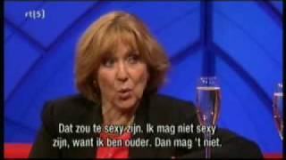 Elizabeth Hubbard Interview (Dutch TV) - Part 2