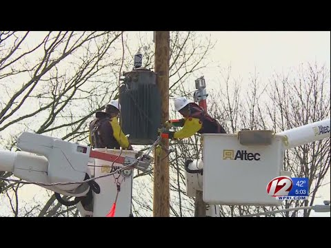 National Grid hopes to get power restored to most by late Monday