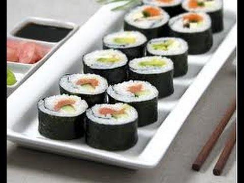 Cómo preparar Sushi? Receta de cocina fácil y rápida para hacer ...