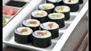 ¿Cómo preparar Sushi? Receta de cocina fácil y rápida para hacer rollos maki o sushi