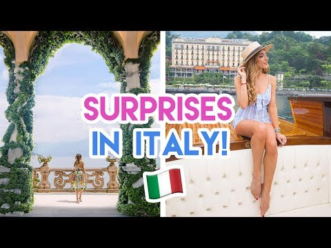 Surprising My Mum in Lake Como! | Amelia Liana Travel Vlog