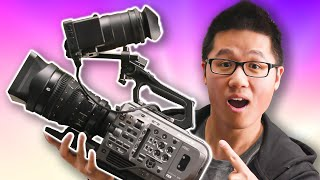 Unboxing Sony's Do All Camera! - Sony FX9