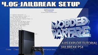 Full PS4 4.05 Jailbreak Setup Tutorial