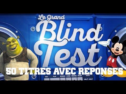 Blind test avec réponses - 50 Titres - Dessins animés toute génération