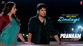 """Presenting upcoming bollywood movie """"pranaam"""" second video song """"zindagi """", the is sung by ankit tiwari and composed vishal mishra. feat..."""