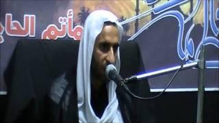 ملا عبد الحي آل قمبر حديث الباب 1432.wmv