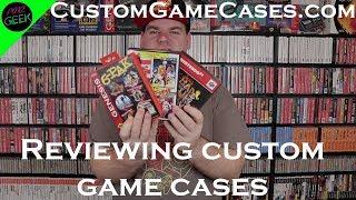 Review of CustomGameCases.com Retro Game Cases