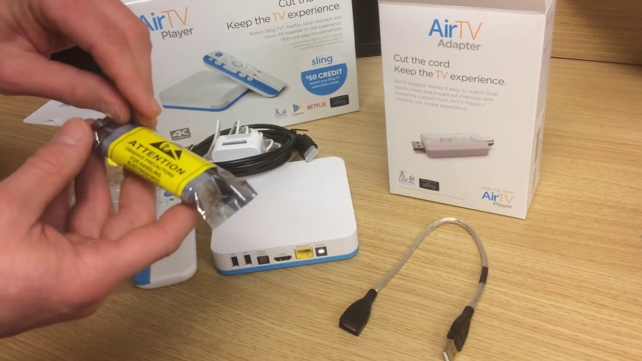 Air TV Dish Network Unboxing - Directable Digital Signage Setup