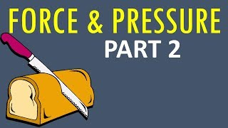 """CBSE Class 8 Science """"Force and Pressure Part 2"""" - Explanation in Hindi , Questio ..."""