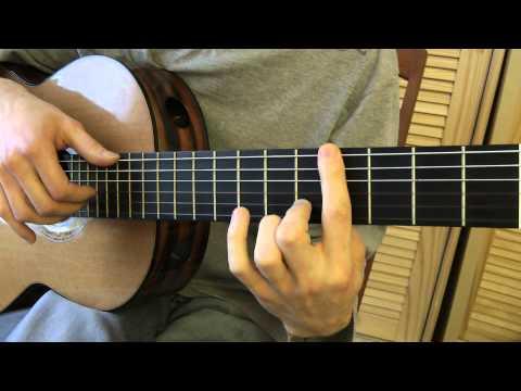 Cours de guitare - Eric Clapton : Signe (2/5) partie (A) -1-