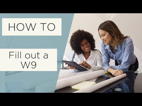 How to Fill Out a W9 - All Up In Yo' Business