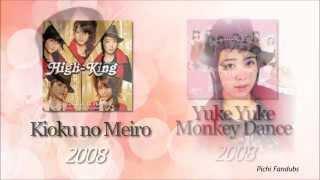 Shimizu Saki solo lines of year 2008 Songs : 01 - 「シンデレラ\コン...