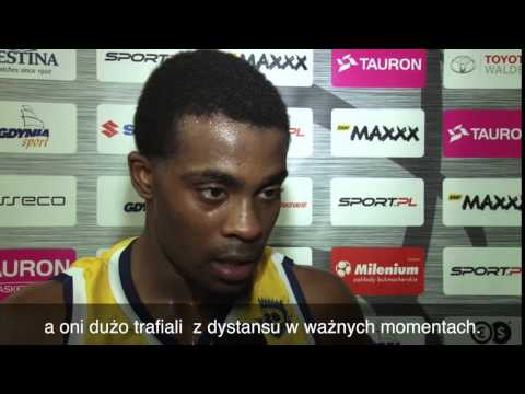 Asseco Gdynia vs. Rosa Radom - Anthony Hickey - wywiad