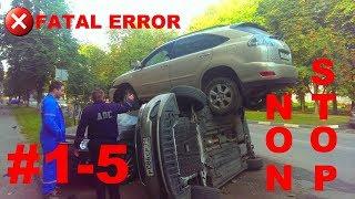 🚘🇷🇺Russian Car Crash Road Accidents Compilation #1-5 NON STOP