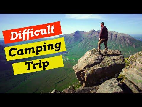 Solo Wildcamping Adventure  [  Fisherfield Mountain Adventure ]