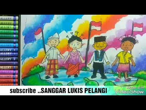 Kerenmewarnai Anak Indonesia Dengan Pakaian Adat Daerah Youtube