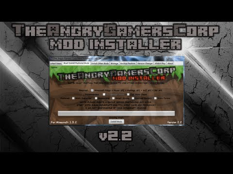 Minecraft v1.5.2 Mod Installer v2.2 By JWD1994