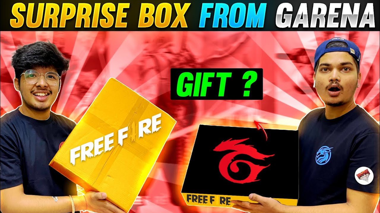 Garena Sent Us Surprise Box At Our House   🥳|| We Got Best Gift From Garena India - Two side Gamers