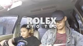 Rolex by Ayo Teo Car Dance | Azriel and Ramzi
