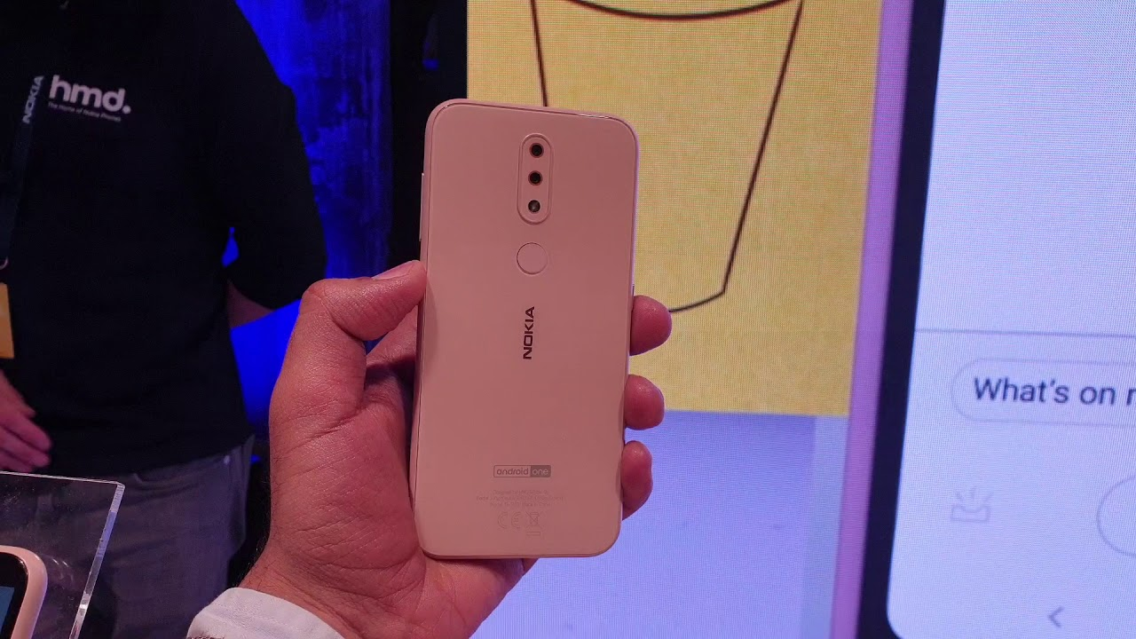 Nokia 4 2: First Look   Hands on   Price   [Hindi हिन्दी]