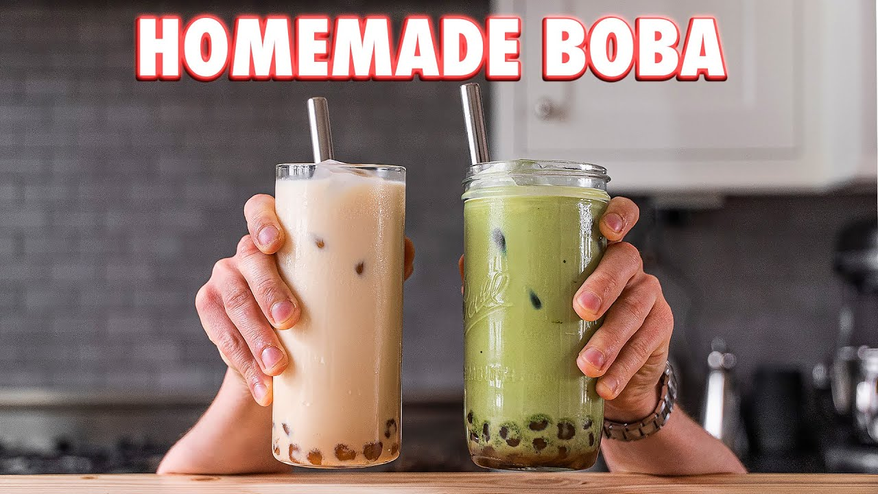 Perfect Boba Tea (2 Ways)