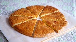 Сырные лепешки с Сочной Сырной начинкой