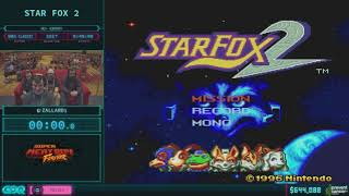 Star Fox 2 by zallard1 in 31:40 AGDQ 2018