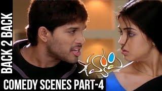 Happy Comedy Scenes   Back to Back   Part 4   Allu Arjun, Genelia   Geetha Arts