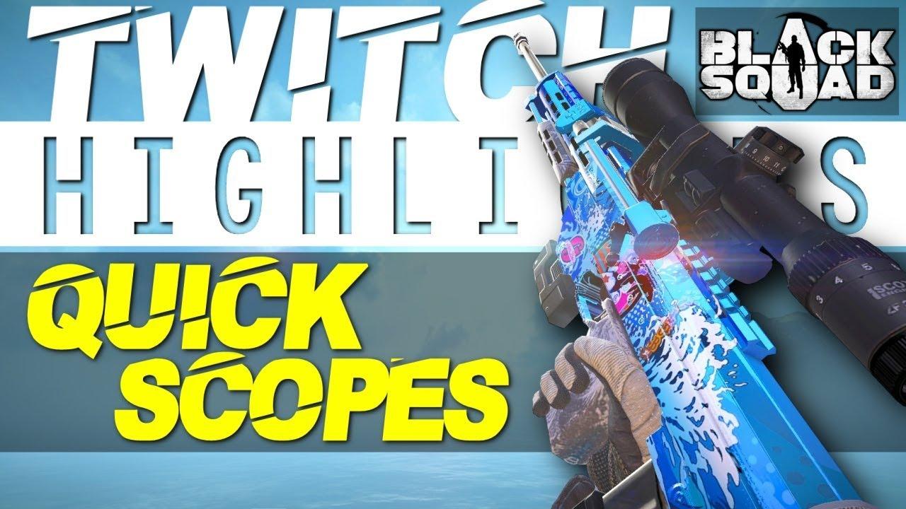 QUICK SCOPES - Flexinja Twitch Highlights #10 (Black Squad)