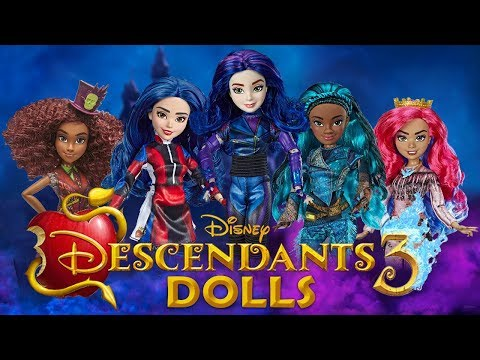 Descendants 3 Dolls - TOY HUNT!