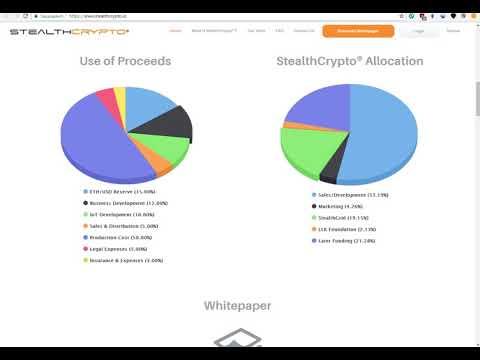 ICO STEALTHCRYPTO - телефон на блокчейн