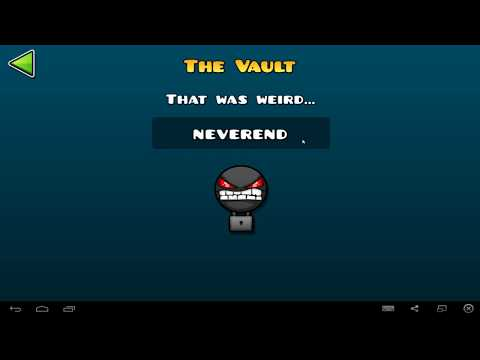 """Geometry Dash """"The Vault"""" all codes"""