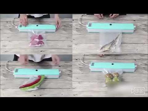 【新品送真空袋】自動小型家用商用真空包裝機 食品袋真空封口機 塑封機保鮮 食品包裝機 食品保鮮機 熱封機 多功能