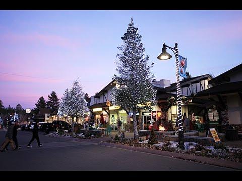 Big Bear Christmas.Catch The Holiday Spirit Big Bear Lake Village