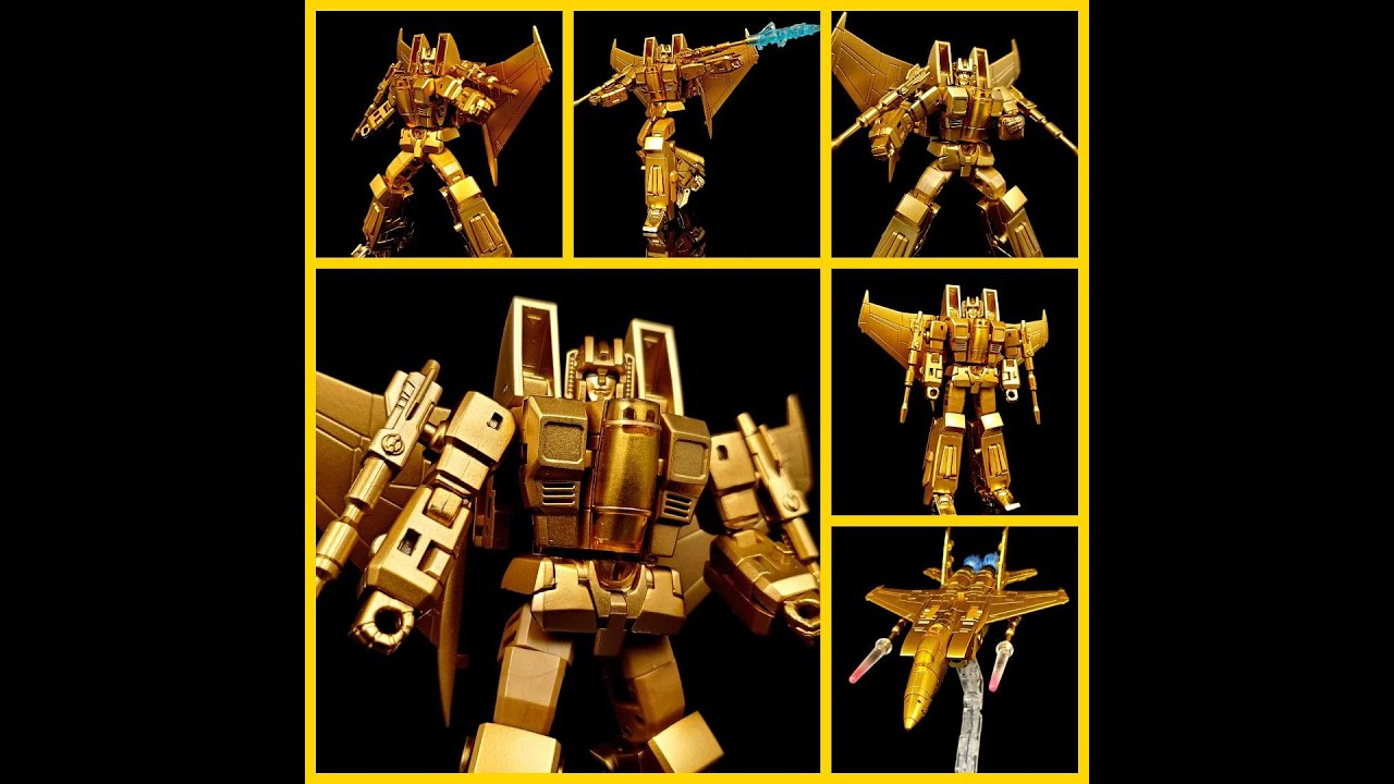 NewAge Toys Gold Lucifer Review! By Delixe Baldwin