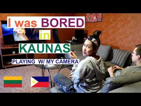 """When I'm Bored In Kaunas Lithuania """"THIS IS WHAT I DO"""" Play w/ my Camera (PinayVlog)"""