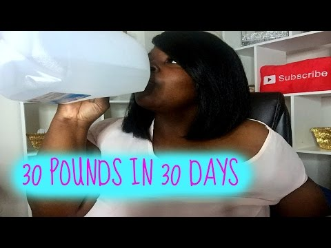 30 POUNDS IN 30 DAYS WEIGHT LOSS CHALLENGE | PIC & UPDATE!