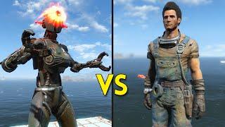 Fallout 4 - 250 STURGES vs 12 ASSAULTRONS - Battles #44