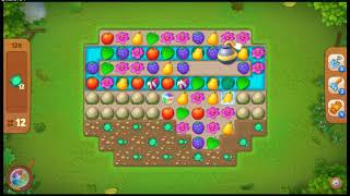 gardenscapes Level 128 No Booster  Super Hard l MiniGames