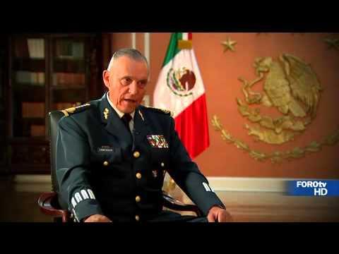 Entrevista con el general Salvador Cienfuegos, titular de Sedena