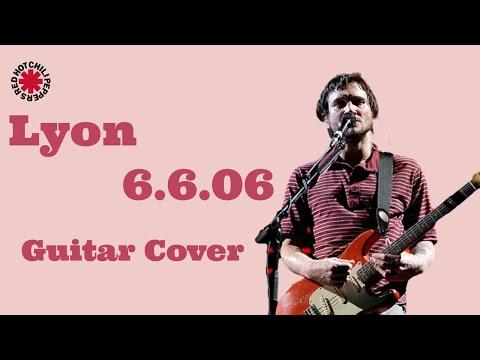 John frusciante :  Lyon 6.6.06 (guitar cover HD )