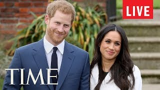 Prince Harry & Meghan Markle Announce That Meghan Is Pregnant With Their First Child | LIVE | TIME